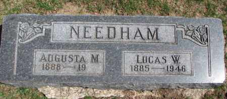 NEEDHAM, AUGUSTA M. - Dixon County, Nebraska | AUGUSTA M. NEEDHAM - Nebraska Gravestone Photos