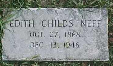 NEFF, EDITH - Dixon County, Nebraska   EDITH NEFF - Nebraska Gravestone Photos