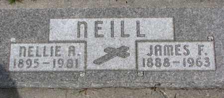NEILL, NELLIE A. - Dixon County, Nebraska | NELLIE A. NEILL - Nebraska Gravestone Photos