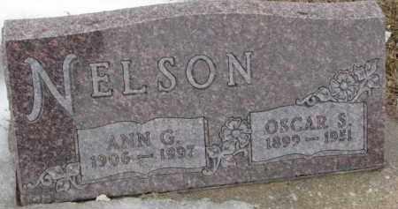 NELSON, ANN G. - Dixon County, Nebraska | ANN G. NELSON - Nebraska Gravestone Photos