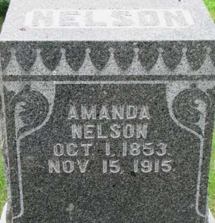 NELSON, AMANDA - Dixon County, Nebraska   AMANDA NELSON - Nebraska Gravestone Photos