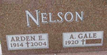 NELSON, ARDEN E. - Dixon County, Nebraska | ARDEN E. NELSON - Nebraska Gravestone Photos