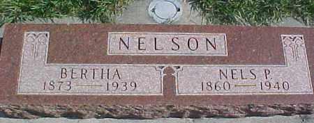 NELSON, BERTHA - Dixon County, Nebraska   BERTHA NELSON - Nebraska Gravestone Photos