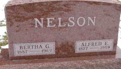 NELSON, BERTHA G. - Dixon County, Nebraska | BERTHA G. NELSON - Nebraska Gravestone Photos
