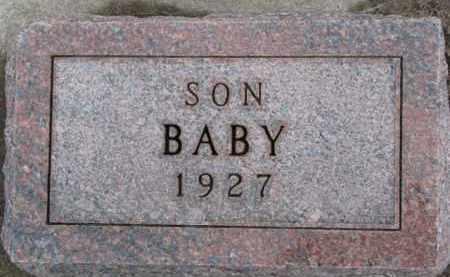 NELSON, BABY - Dixon County, Nebraska | BABY NELSON - Nebraska Gravestone Photos