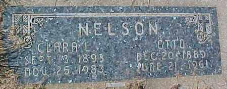 NELSON, CLARA L - Dixon County, Nebraska | CLARA L NELSON - Nebraska Gravestone Photos