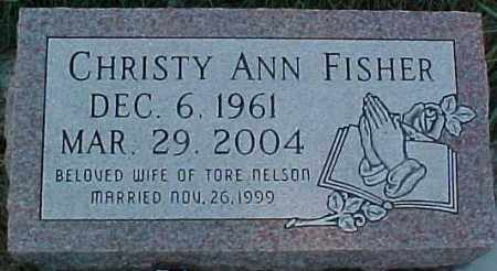 FISCHER NELSON, CHRISTY ANN - Dixon County, Nebraska | CHRISTY ANN FISCHER NELSON - Nebraska Gravestone Photos