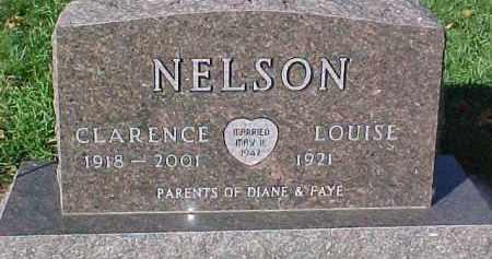 NELSON, CLARENCE - Dixon County, Nebraska | CLARENCE NELSON - Nebraska Gravestone Photos