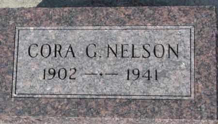 NELSON, CORA G. - Dixon County, Nebraska   CORA G. NELSON - Nebraska Gravestone Photos