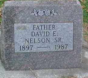 NELSON, DAVID E. SR. - Dixon County, Nebraska | DAVID E. SR. NELSON - Nebraska Gravestone Photos