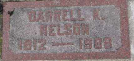 NELSON, DARRELL K. - Dixon County, Nebraska | DARRELL K. NELSON - Nebraska Gravestone Photos