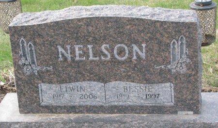 NELSON, ELWIN - Dixon County, Nebraska | ELWIN NELSON - Nebraska Gravestone Photos