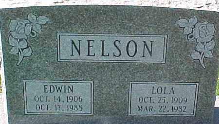 NELSON, EDWIN - Dixon County, Nebraska | EDWIN NELSON - Nebraska Gravestone Photos