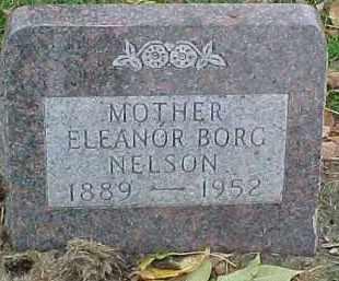 NELSON, ELEANOR - Dixon County, Nebraska | ELEANOR NELSON - Nebraska Gravestone Photos