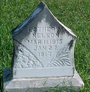 NELSON, ESTHER M. - Dixon County, Nebraska | ESTHER M. NELSON - Nebraska Gravestone Photos