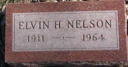 NELSON, ELVIN H. - Dixon County, Nebraska | ELVIN H. NELSON - Nebraska Gravestone Photos