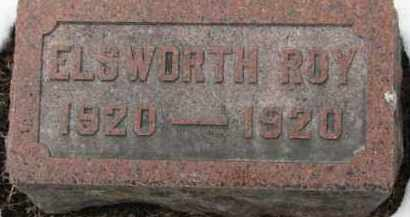 NELSON, ELSWORTH ROY - Dixon County, Nebraska | ELSWORTH ROY NELSON - Nebraska Gravestone Photos