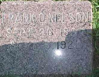 NELSON, FRANK O. - Dixon County, Nebraska | FRANK O. NELSON - Nebraska Gravestone Photos