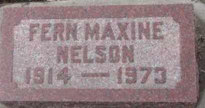 NELSON, FERN MAXINE - Dixon County, Nebraska | FERN MAXINE NELSON - Nebraska Gravestone Photos