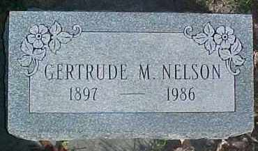 NELSON, GERTRUDE M. - Dixon County, Nebraska | GERTRUDE M. NELSON - Nebraska Gravestone Photos