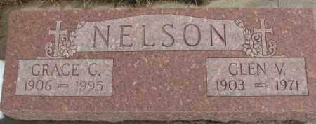 NELSON, GLEN V. - Dixon County, Nebraska   GLEN V. NELSON - Nebraska Gravestone Photos