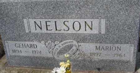 NELSON, GEHARD - Dixon County, Nebraska | GEHARD NELSON - Nebraska Gravestone Photos
