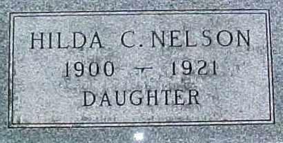 NELSON, HILDA C. - Dixon County, Nebraska   HILDA C. NELSON - Nebraska Gravestone Photos