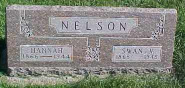 NELSON, SWAN V. - Dixon County, Nebraska   SWAN V. NELSON - Nebraska Gravestone Photos