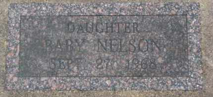 NELSON, INFANT - Dixon County, Nebraska | INFANT NELSON - Nebraska Gravestone Photos