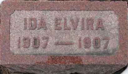 NELSON, IDA ELVIRA - Dixon County, Nebraska | IDA ELVIRA NELSON - Nebraska Gravestone Photos