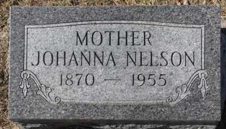 NELSON, JOHANNA - Dixon County, Nebraska | JOHANNA NELSON - Nebraska Gravestone Photos