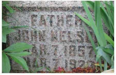 NELSON, JOHN - Dixon County, Nebraska | JOHN NELSON - Nebraska Gravestone Photos