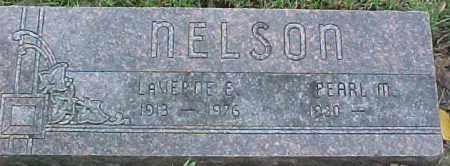 NELSON, LAVERNE E. - Dixon County, Nebraska | LAVERNE E. NELSON - Nebraska Gravestone Photos