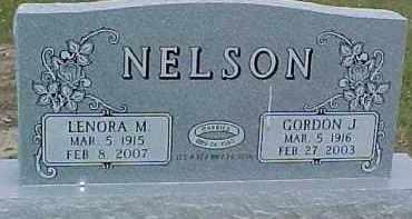 NELSON, GORDON J. - Dixon County, Nebraska | GORDON J. NELSON - Nebraska Gravestone Photos