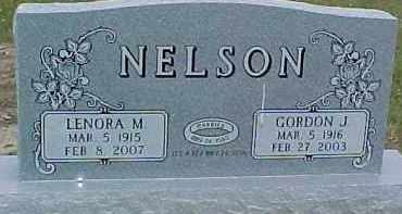 NELSON, GORDON J. - Dixon County, Nebraska | GORDON J. NELSON - Nebraska Gravestone Photos