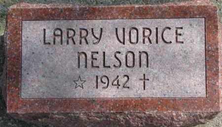 NELSON, LARRY VORICE - Dixon County, Nebraska   LARRY VORICE NELSON - Nebraska Gravestone Photos
