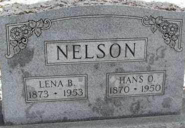 NELSON, LENA B. - Dixon County, Nebraska | LENA B. NELSON - Nebraska Gravestone Photos