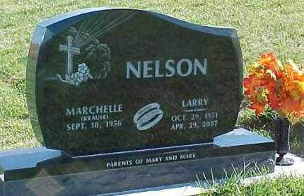 NELSON, LARRY - Dixon County, Nebraska | LARRY NELSON - Nebraska Gravestone Photos