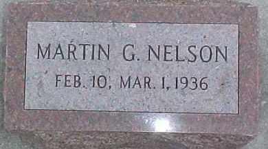NELSON, MARTIN G. - Dixon County, Nebraska | MARTIN G. NELSON - Nebraska Gravestone Photos
