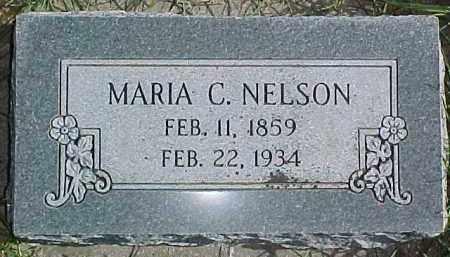 NELSON, MARIA C. - Dixon County, Nebraska | MARIA C. NELSON - Nebraska Gravestone Photos