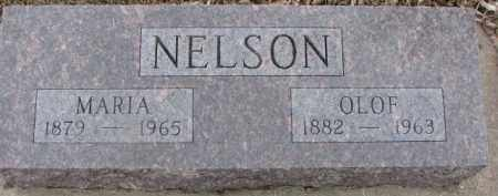 NELSON, MARIA - Dixon County, Nebraska   MARIA NELSON - Nebraska Gravestone Photos