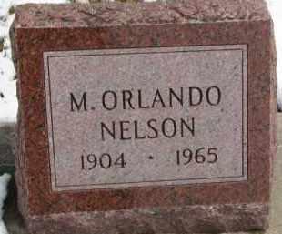 NELSON, M. ORLANDO - Dixon County, Nebraska | M. ORLANDO NELSON - Nebraska Gravestone Photos