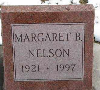 NELSON, MARGARET B. - Dixon County, Nebraska   MARGARET B. NELSON - Nebraska Gravestone Photos