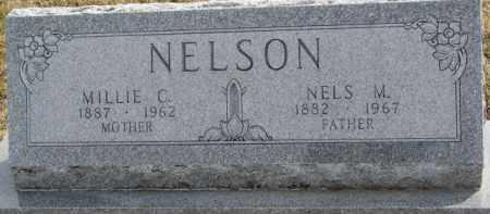 NELSON, MILLIE C. - Dixon County, Nebraska | MILLIE C. NELSON - Nebraska Gravestone Photos