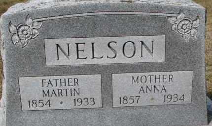NELSON, MARTIN - Dixon County, Nebraska | MARTIN NELSON - Nebraska Gravestone Photos