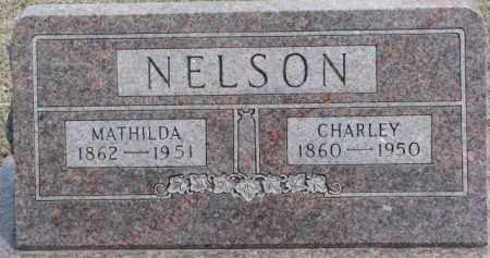 NELSON, MATHILDA - Dixon County, Nebraska | MATHILDA NELSON - Nebraska Gravestone Photos