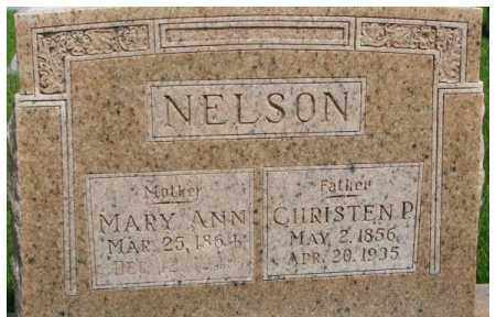 NELSON, MARY ANN - Dixon County, Nebraska | MARY ANN NELSON - Nebraska Gravestone Photos