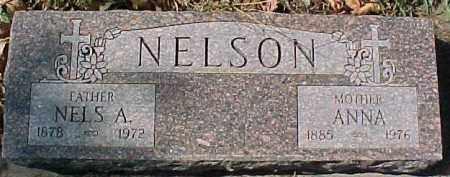 NELSON, ANNA - Dixon County, Nebraska   ANNA NELSON - Nebraska Gravestone Photos