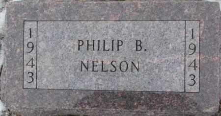 NELSON, PHILIP B. - Dixon County, Nebraska | PHILIP B. NELSON - Nebraska Gravestone Photos