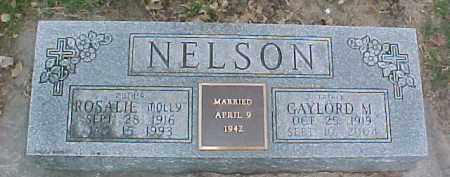 NELSON, GAYLORD M. - Dixon County, Nebraska | GAYLORD M. NELSON - Nebraska Gravestone Photos